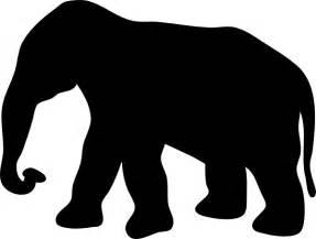 elephant silhouette vector elephant silhouette clip at clker vector clip