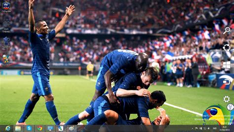2014 fifa world cup soccer players with the craziest france national football team 2014 theme for windows 7 and