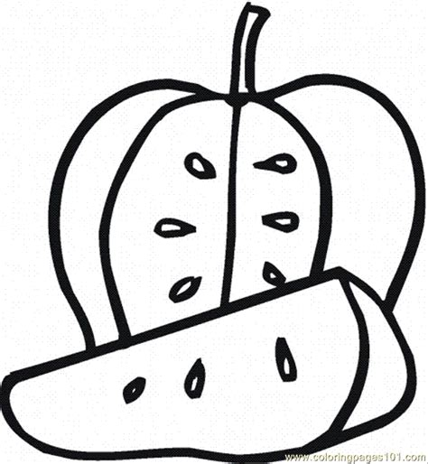 eaten apple coloring page free coloring pages of eating apple
