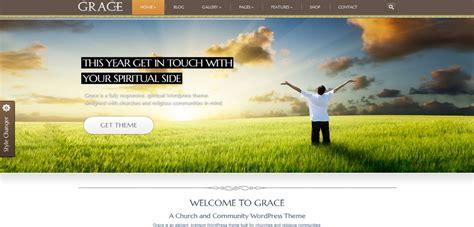 themeforest grace grace responsive church wordpress theme themeforest