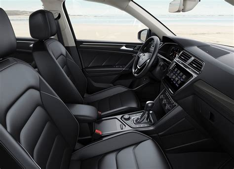 volkswagen tiguan 2018 interior 2018 vw tiguan allspace interior autosdrive info