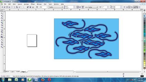 tutorial wap coreldraw cara buat batik cirebon dengan corel rojay creative