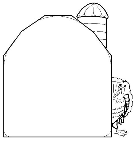 Barn Coloring Pages Coloring Part 2 Barn Coloring Page