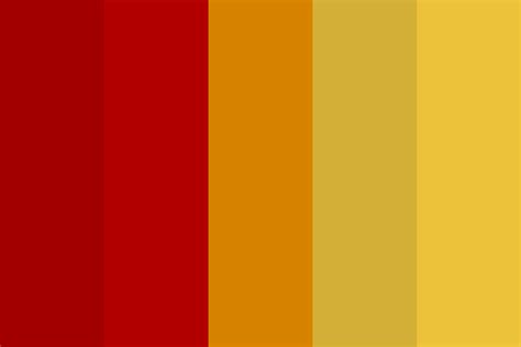 gryffindor colors gryffindor house color color palette