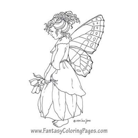 faerie coloring pages kleurplaat pinterest world