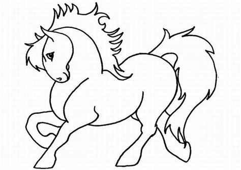 free coloring book pages of horses free printable coloring pages for