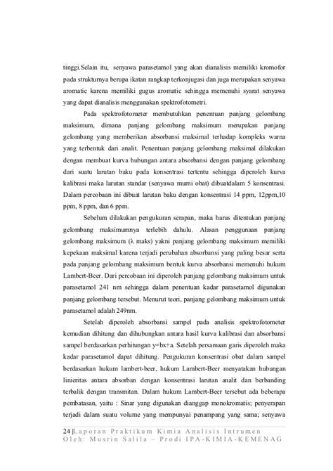laporan praktikum membuat larutan dengan konsentrasi tertentu laporan praktikum musrin salila pps unnes