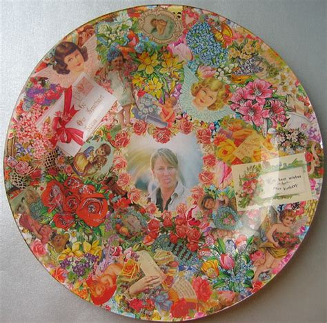 Decoupage With Photos - flickr photo