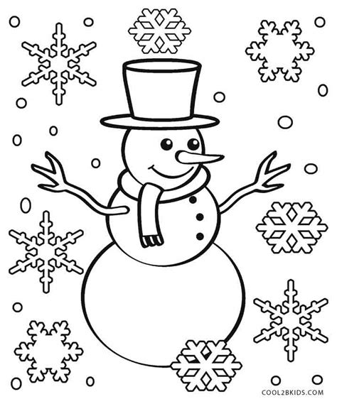 Printable Snowflake Coloring Pages For Kids Cool2bkids Snowflakes Printable Coloring Pages