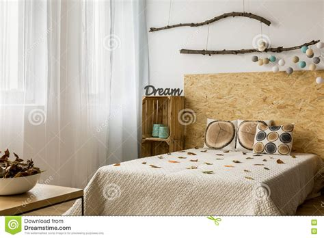 creative diy home decor in eco style stock photo image