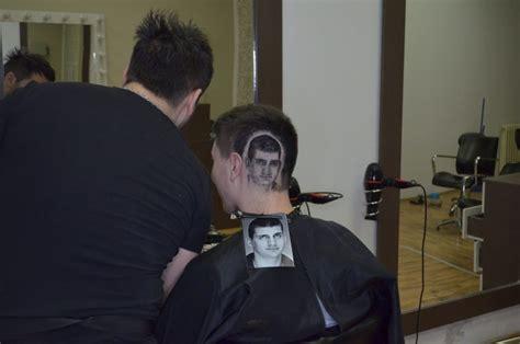 Catokan Rambut Yang Biasa 9 karya cukur rambut ini nggak biasa ada yang mirip wajah jong un