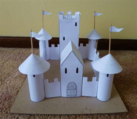 How To Make A Paper Castle Easy - swanky lifestyle november 2011