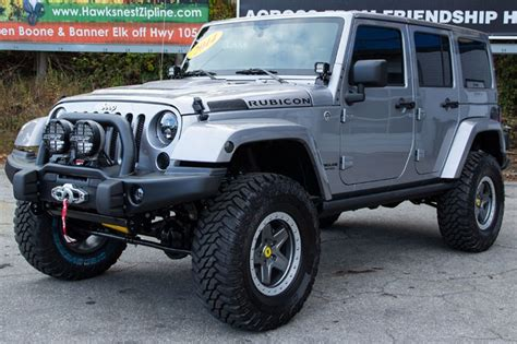 Rubicon Jeep For Sale Jeep Wrangler Rubicon Unlimited For Sale In Billet