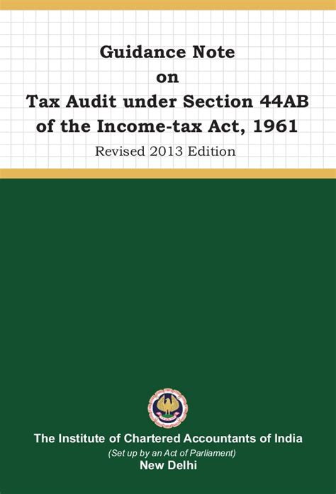 section 14 income tax act gn on tax audit 2013