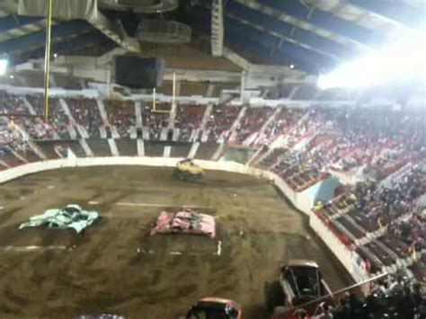 monster truck farm show harrisburg farm show complex monster trucks youtube