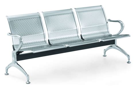 Kursi Tunggu Pasien Stainless Steel rumah sakit modern kursi tunggu kursi stainless steel
