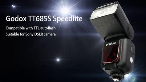 Godox Tt685s Ttl Sony Flash Black godox tt685s ttl lcd flash speedlite for sony dslr