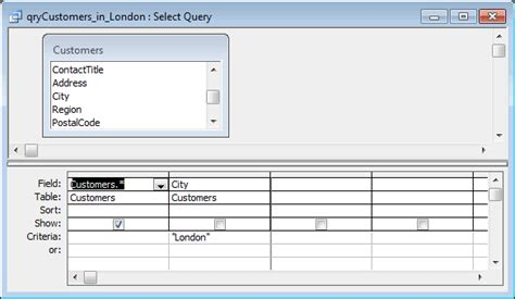 how to open layout view in access ms access 2003 open a query in design view