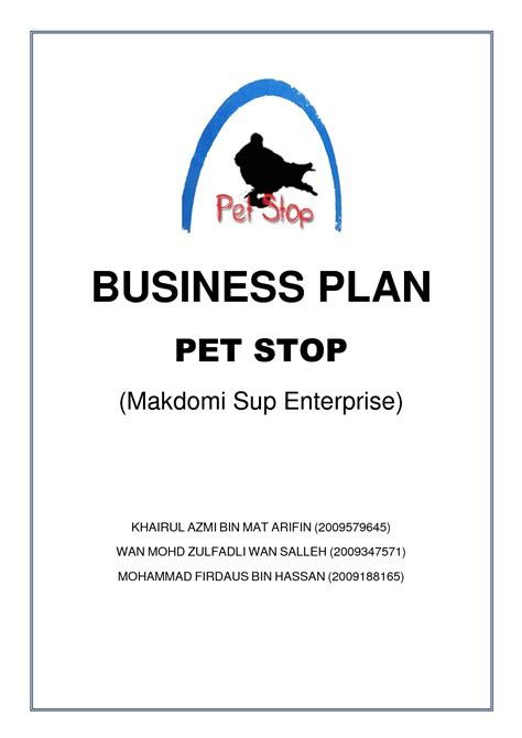 business plan cover sheet template 7 best images of sle business plan cover sheet