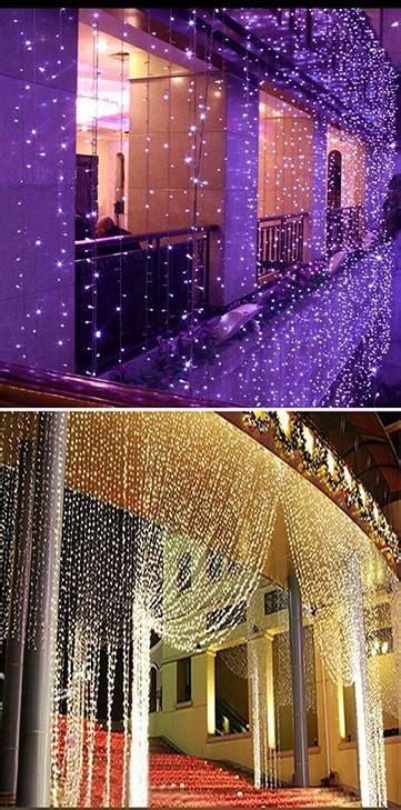 cortinas con luces decorados originales con cortinas de luces para bodas