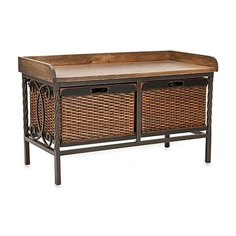 buy storage bench buy small benches from bed bath beyond autos post