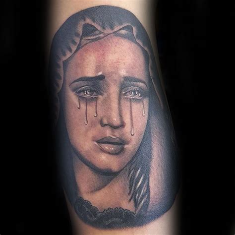 100 virgin mary tattoos for men religious design ideas