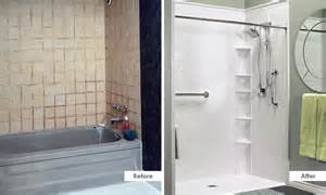 Turn Your Bath Into A Shower Bathfitter Bath Remodeling