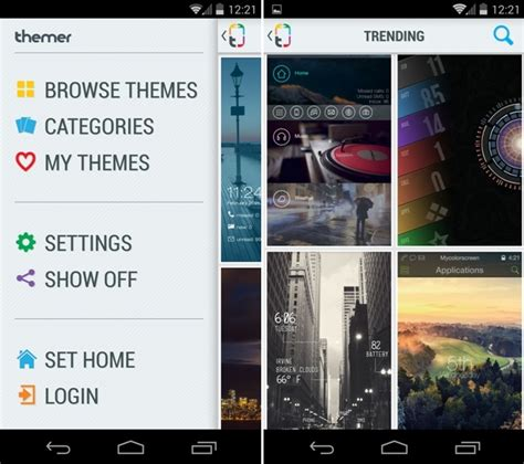 themes for rooted android free download install custom themes on your android without rooting your