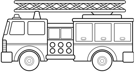 preschool coloring pages trucks free fire truck coloring pages printable for preschool