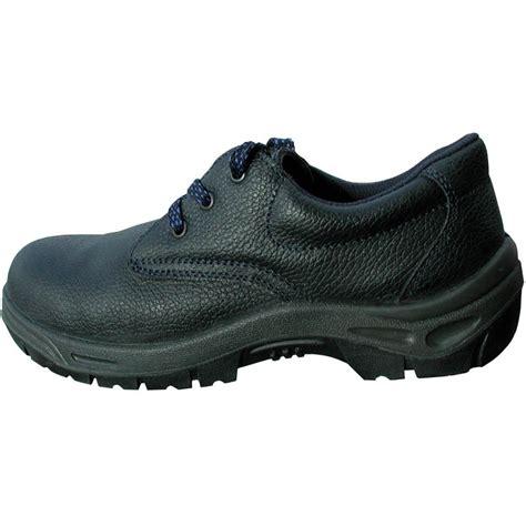 basic black safety shoe with midsole en345 s1p