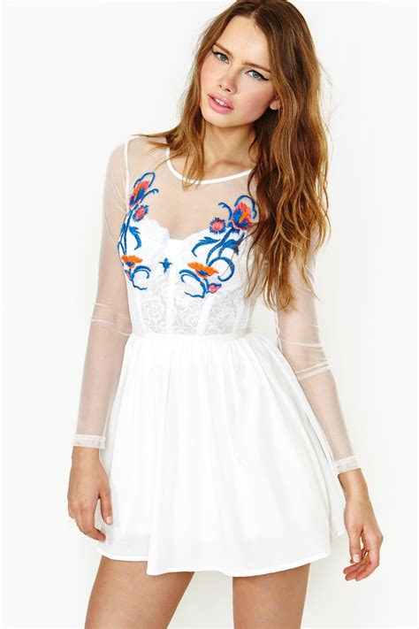 Secret Garden Attire Secret Garden Dress White Xeuee