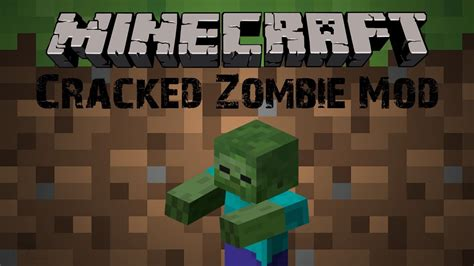 mods in minecraft cracked minecraft mod ร ว ว cracked zombie mod youtube