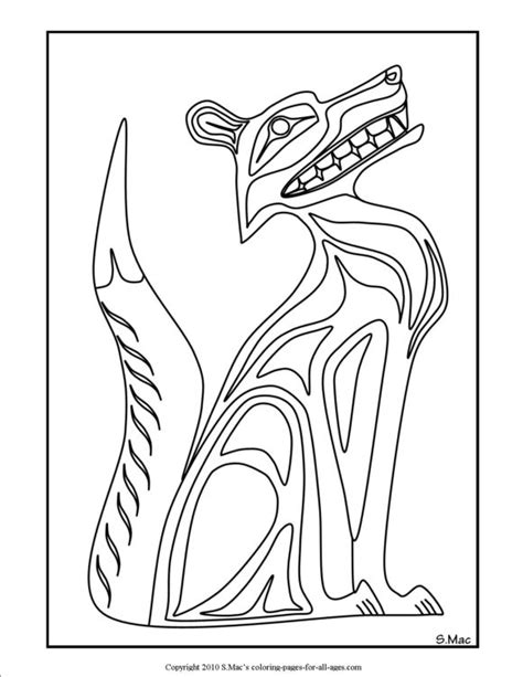 free coloring pages of native american designs
