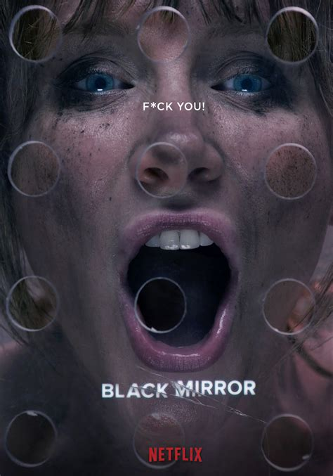black mirror poster federico mauro creative director multimedia designer