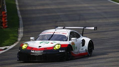 Le Mans Porsche by Wec Porsche Gt Team Names Third Drivers For Le Mans