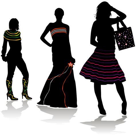 fashion clip catwalk clipart
