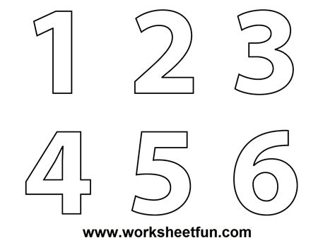 14 Best Images Of Bubble Number Worksheet Preschool Preschool Number Coloring Pages