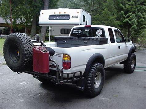 Tacoma Back Rack by Badland Bumpers Rack System