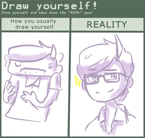 Drawing Yourself As A by Draw Yourself Challenge By Akmalzonia On Deviantart