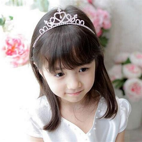 moq 1pc new style rhinestone headband hairband baby 1pc popular fashion princess bridal