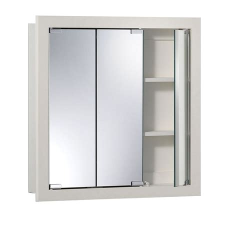 24 x 24 medicine cabinets shop jensen granville 24 in x 24 in rectangle surface