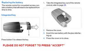 How To Open Bmw Key 2007 Bmw Key Remote Open Unlock Driven Battery Replacement