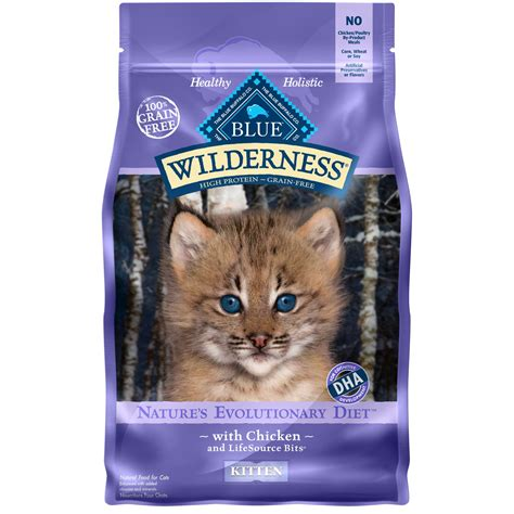 blue buffalo grain free food blue buffalo wilderness grain free kitten food petco