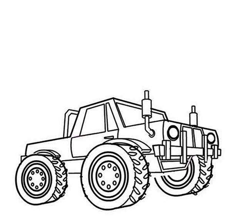 monster truck mater coloring page monster truck mater coloring page