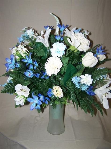 silk flowers for cemetery vases 17 best images about flower arrangements on deco mesh floral arrangements and easels