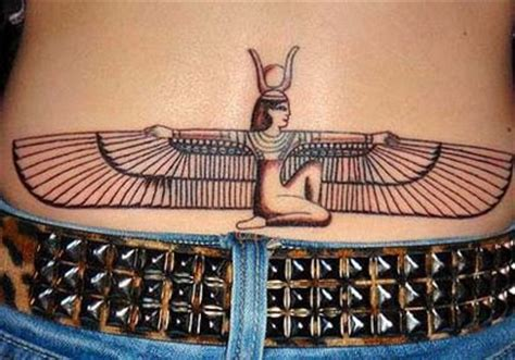 tattoo isis meaning egyptian tattoos design art