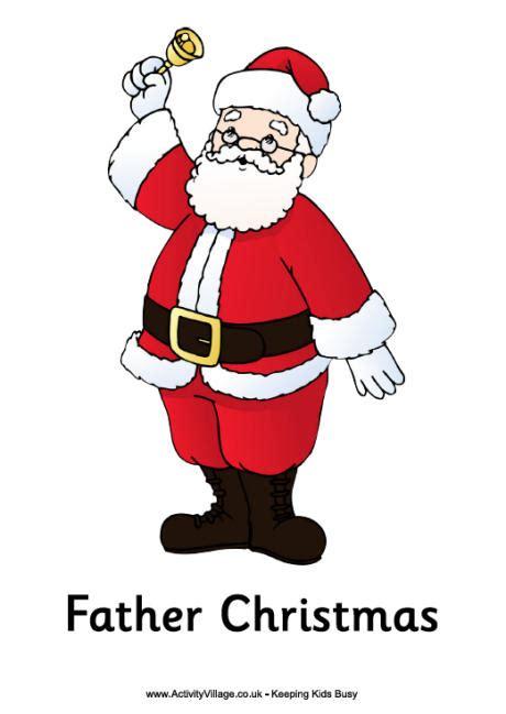 images of christmas father christmas poster father christmas printable