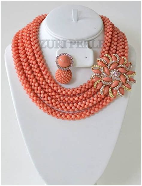 Pictures Of Latest Beads In Nigeria | buy the latest bead necklaces for brides fashion nigeria
