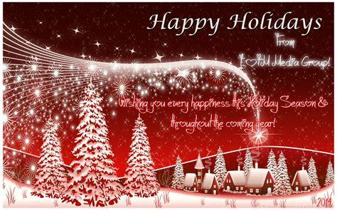 wishing   happy holiday   joyful  year  wishes   friends  eotm media