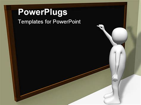 free animated powerpoint templates for teachers a is writting in the blackboard powerpoint